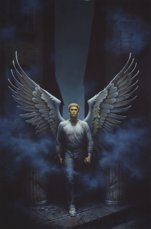 Street Angel  Artwork by Don  Maitz