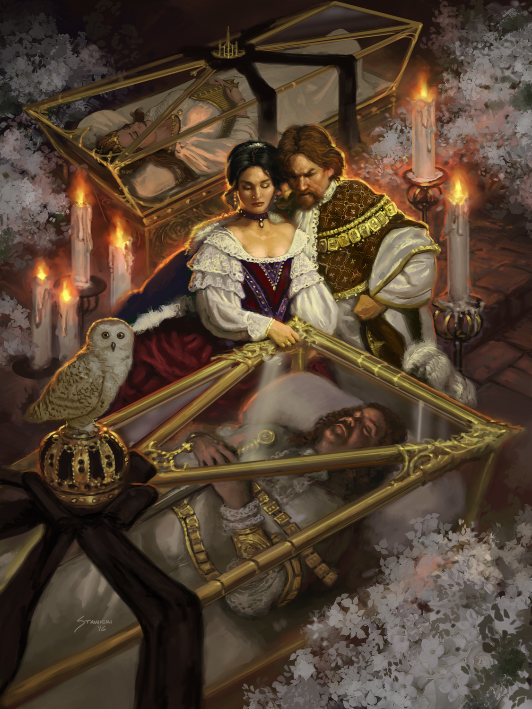Sovereign Silk Artwork by Matthew Stawicki