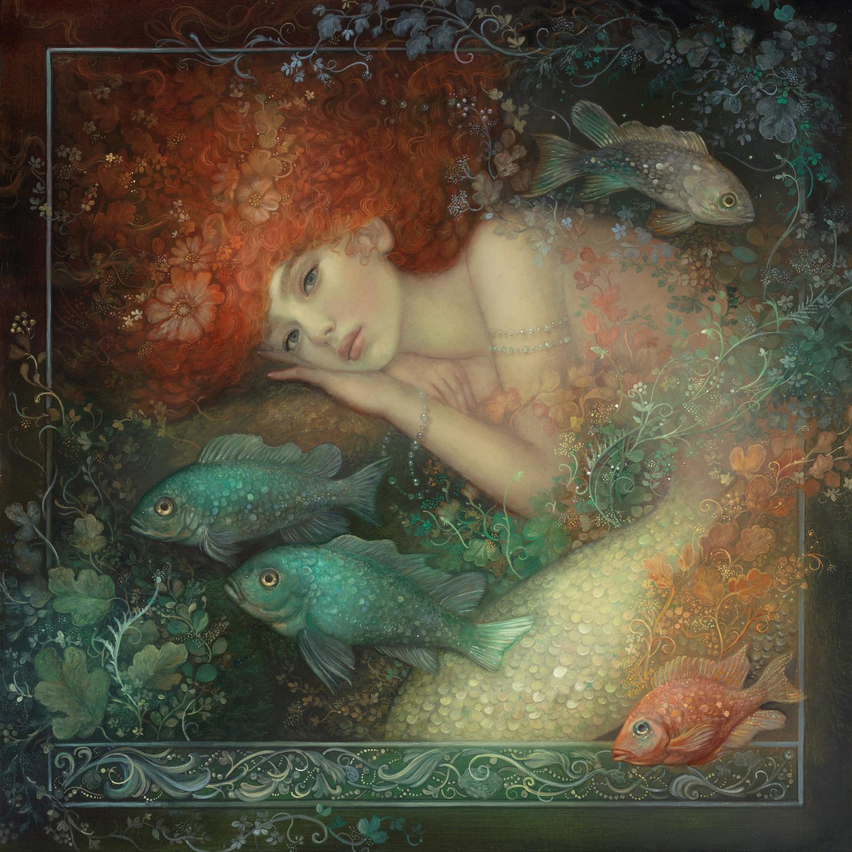 The Mermaid Artwork by Annie Stegg