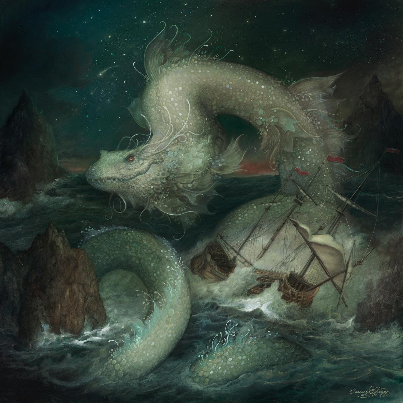 The Serpent Artwork by Annie Stegg