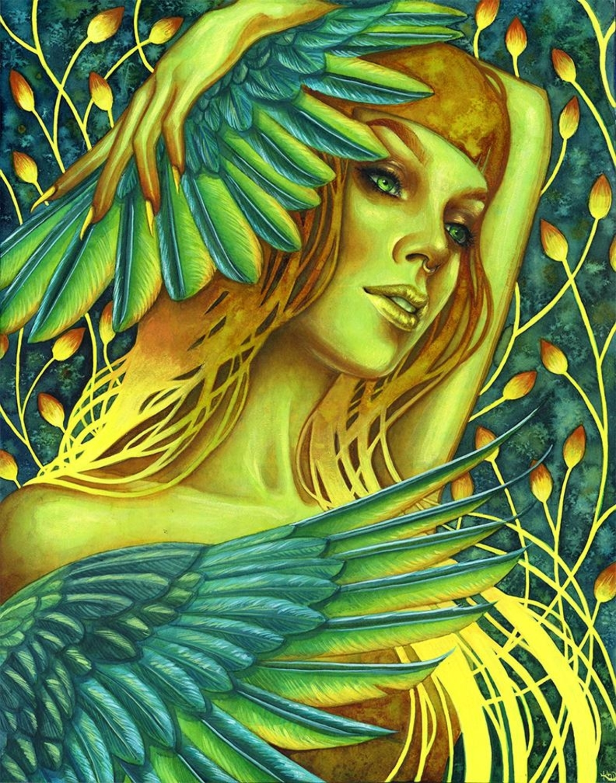 Firebird Artwork by Kelly McKernan
