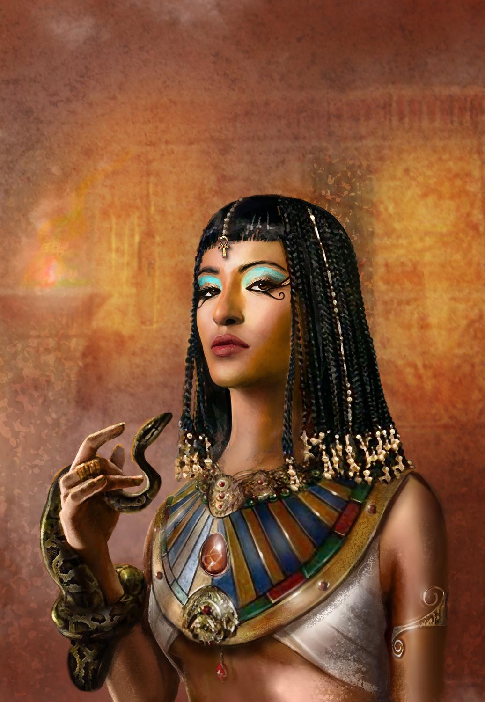 Cleopatra, the Divine Artwork by Maurizio Manzieri