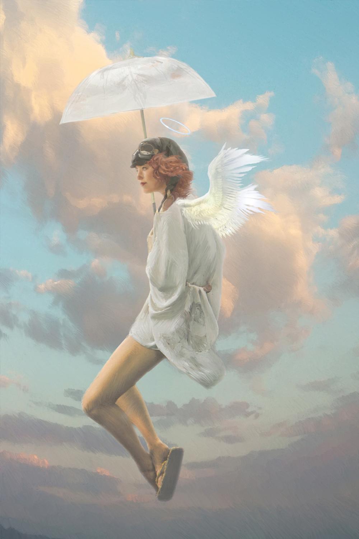 Saint of Little Deaths Artwork by Elizabeth Leggett