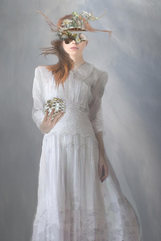 Blindness Artwork by Elizabeth Leggett