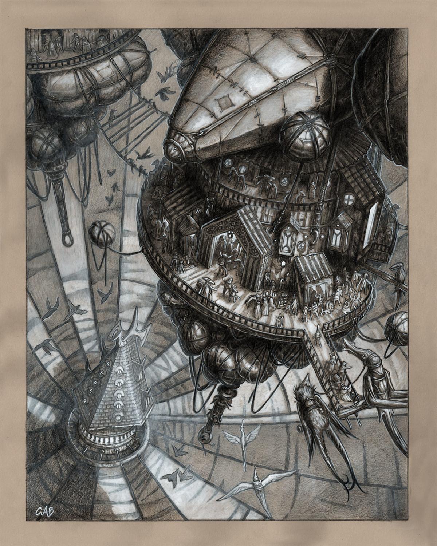 Air Shops Artwork by Christopher Burdett