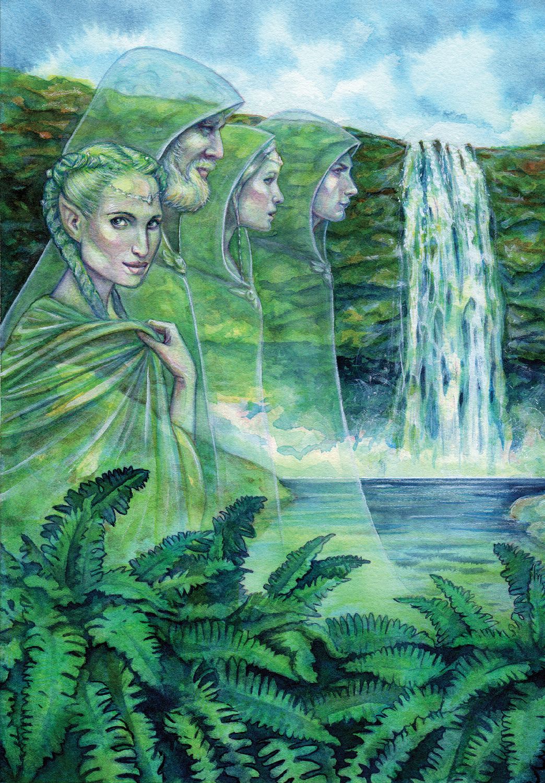 The Huldufolk Artwork by Belinda Morris