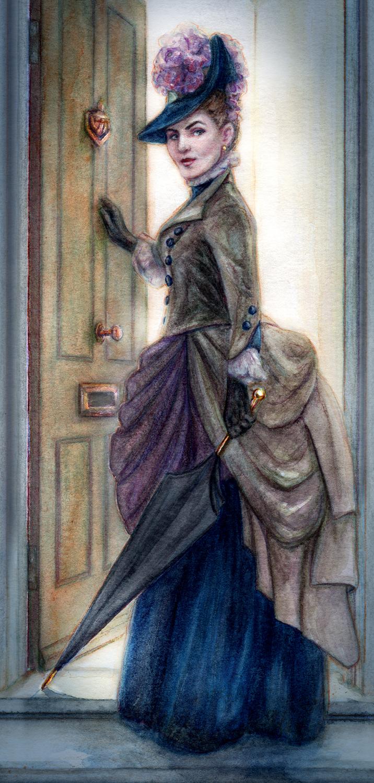 Irene Adler Artwork by Belinda Morris