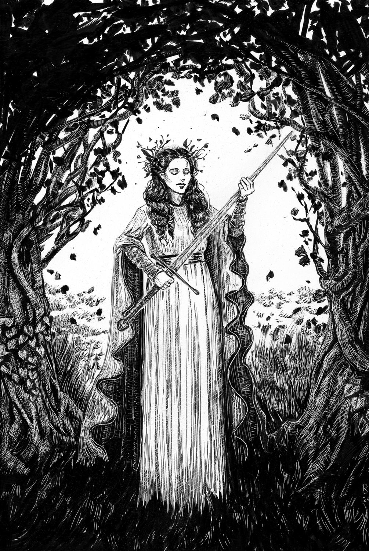 The Sword Artwork by Belinda Morris