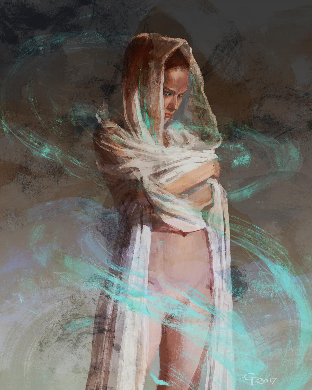 Summoner Artwork by Eleni Tsami
