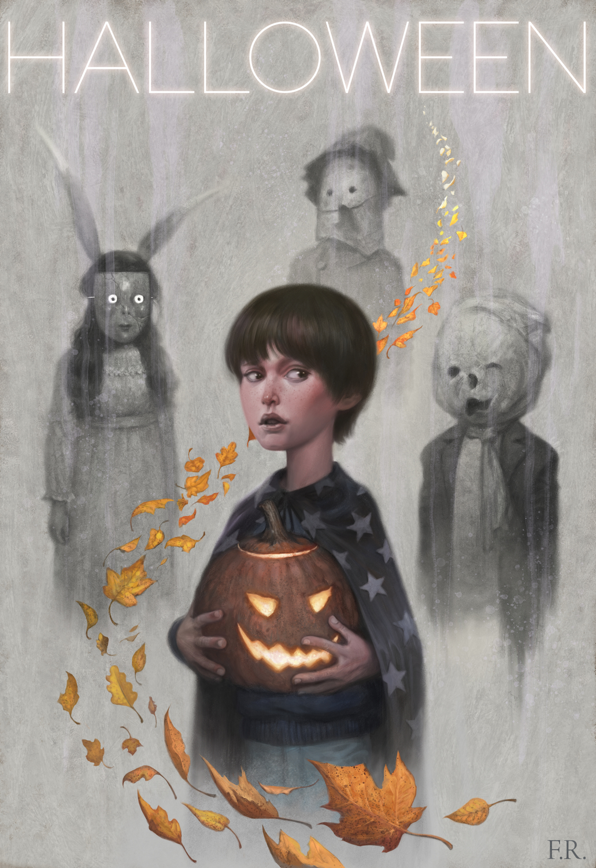 Halloween Artwork by Franco Rivolli