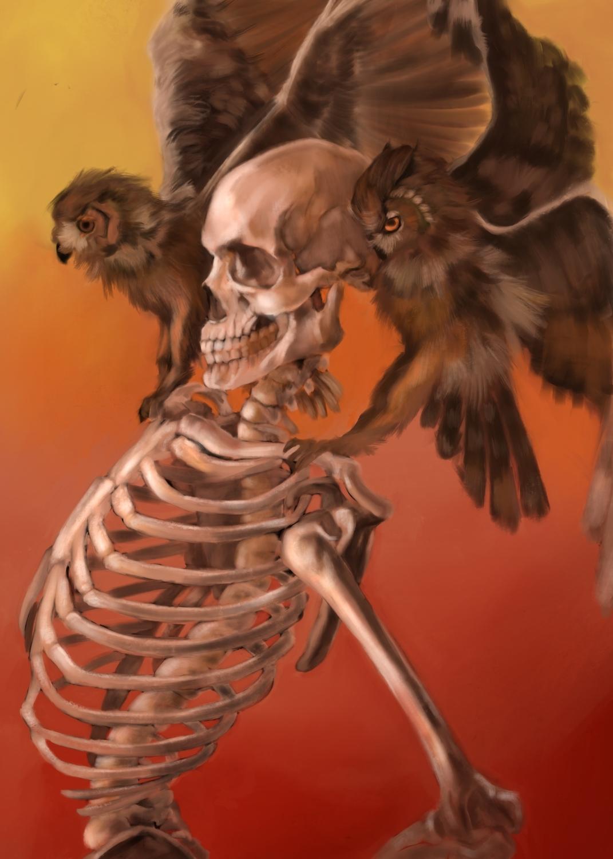 Wisdom Artwork by Patrick Stacy