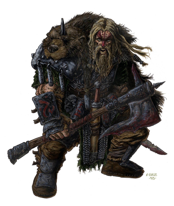 BT Warrior Artwork by Michael Rechlin