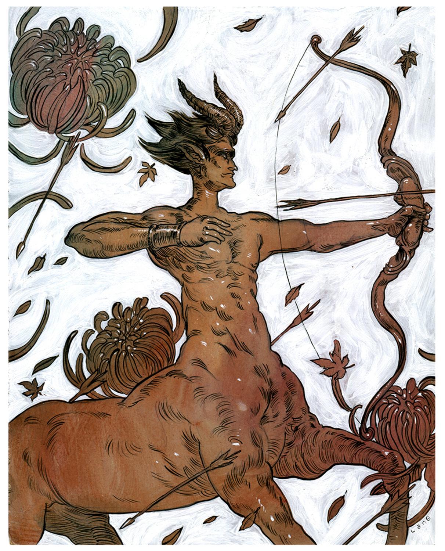 Centaur Artwork by Elliot Lang