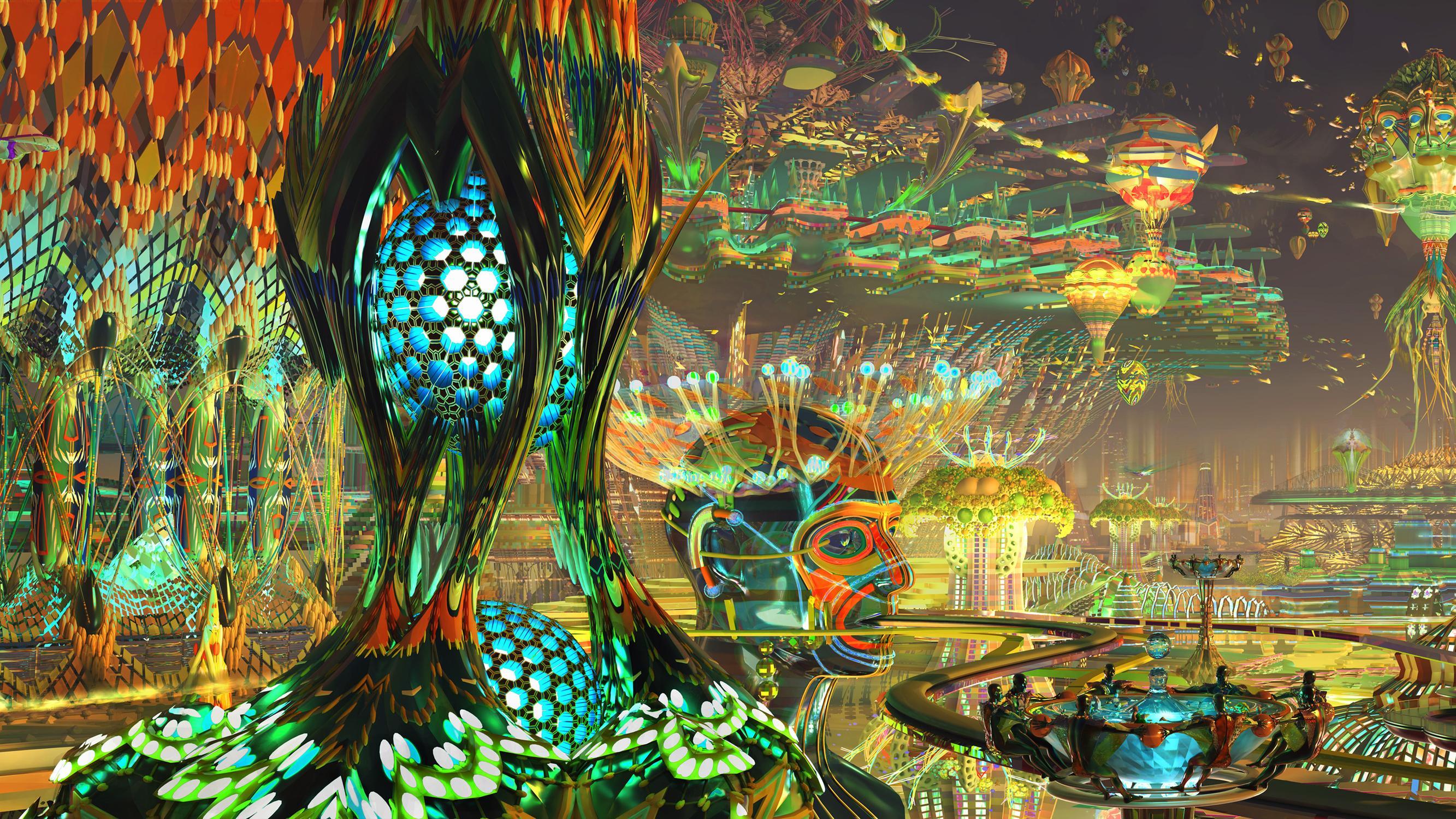 Metroplayitan Expanse 1 Artwork by Kirsten Zirngibl
