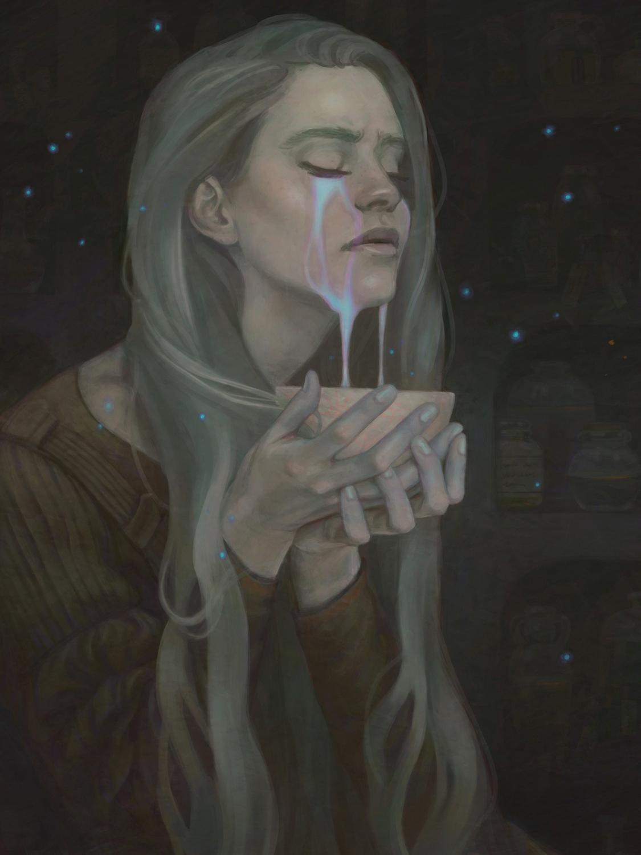 Gathered tears Artwork by jessica shirley