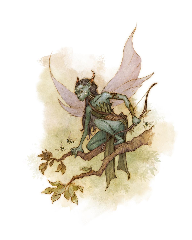 Drakar och Demoner -  Fairy  Artwork by David Brasgalla