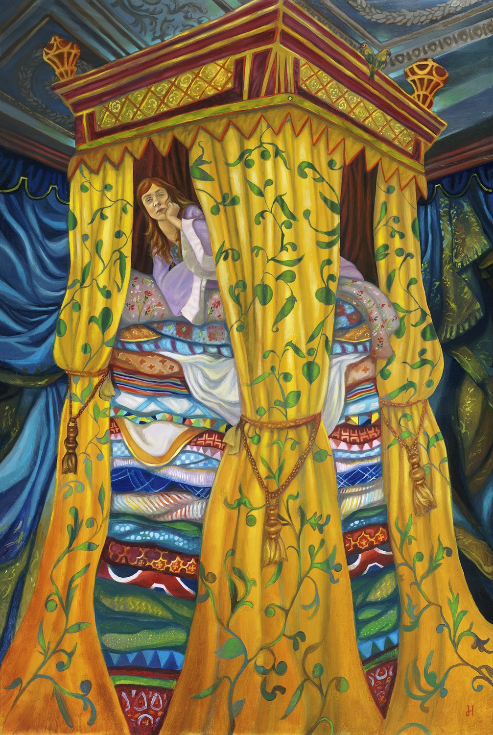 Princess and the Pea Artwork by David Hoffrichter