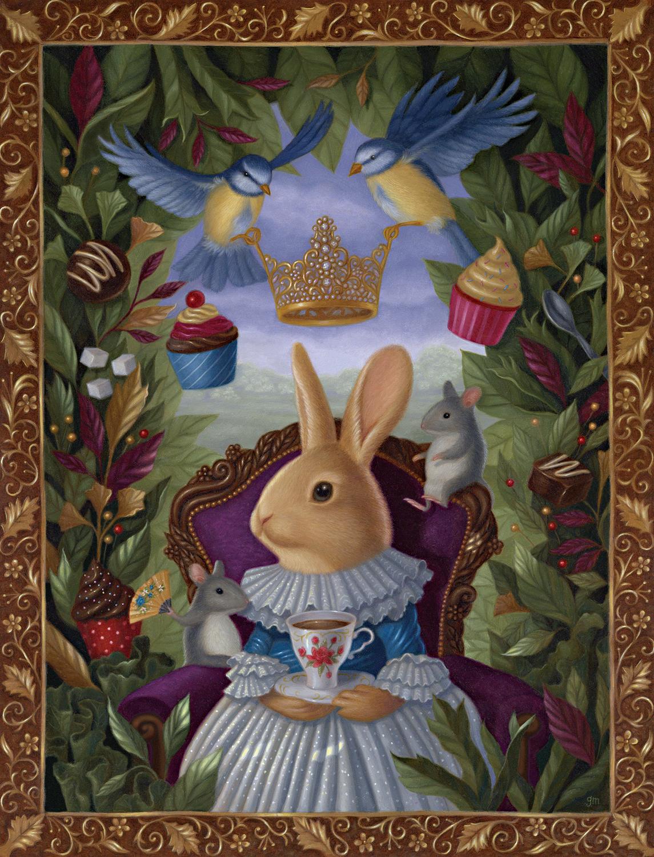The Highest Tea Artwork by Gina Matarazzo