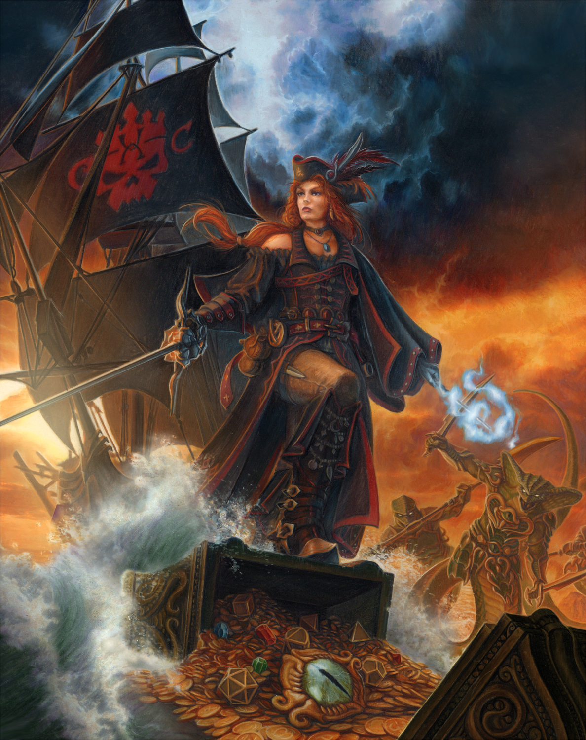 The Pirate Queen Artwork by Charles Urbach