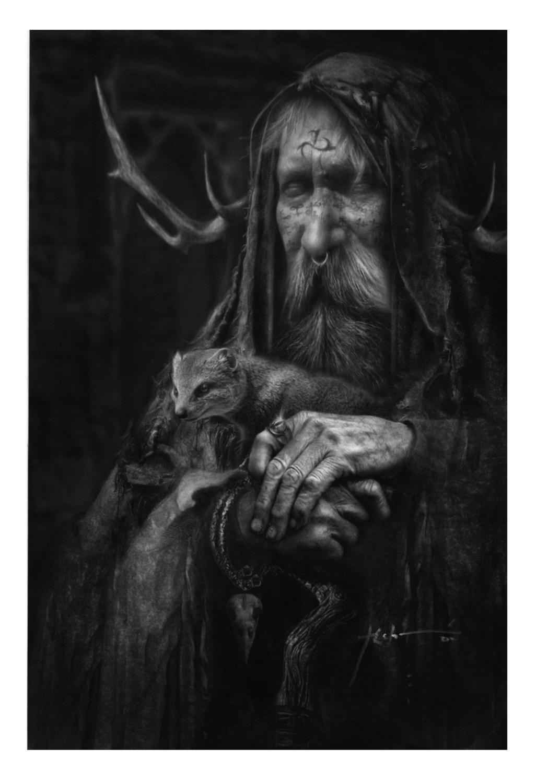 ORIAX STARGAZER ~ Night Demon  of the Highest Order Artwork by Jeff Echevarria