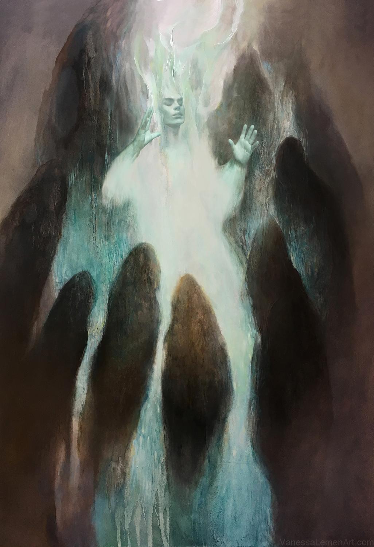 I Am The Light Artwork by Vanessa Lemen