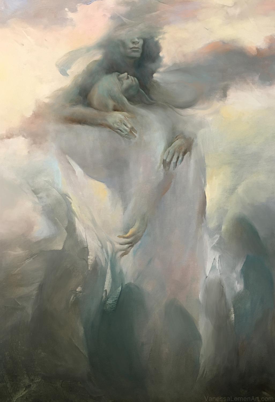 So Long As We Waken (The Left Hand Of Darkness) Artwork by Vanessa Lemen