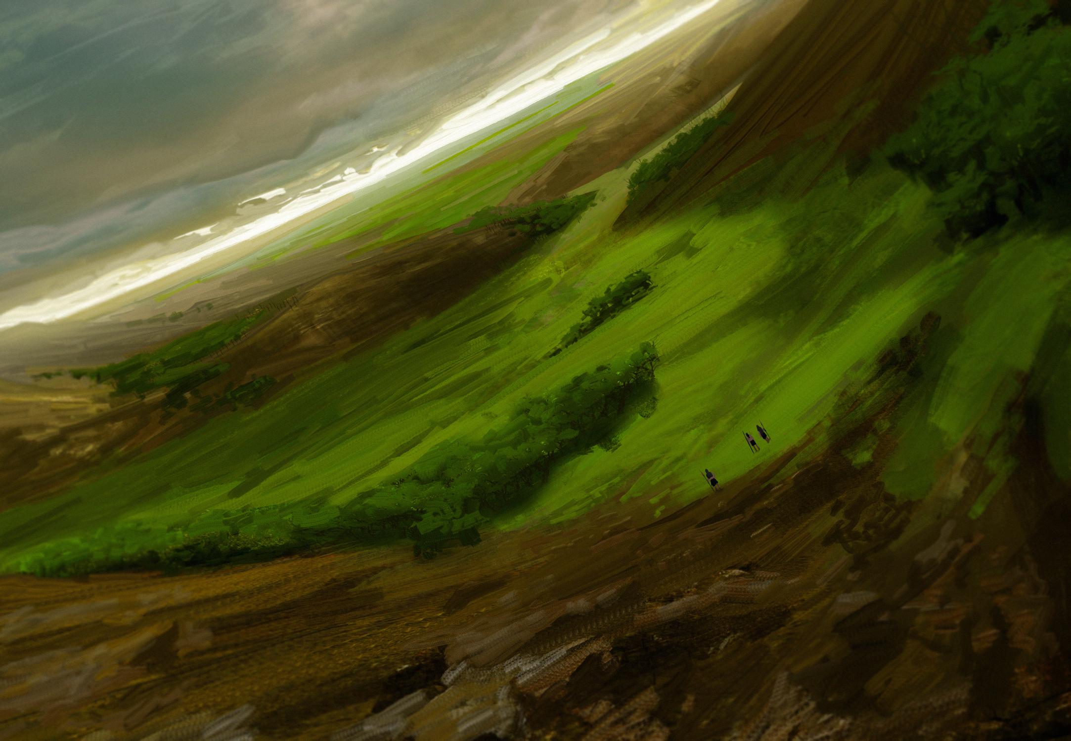 Hunting Grounds Artwork by Bruno Galuzzi Corsini