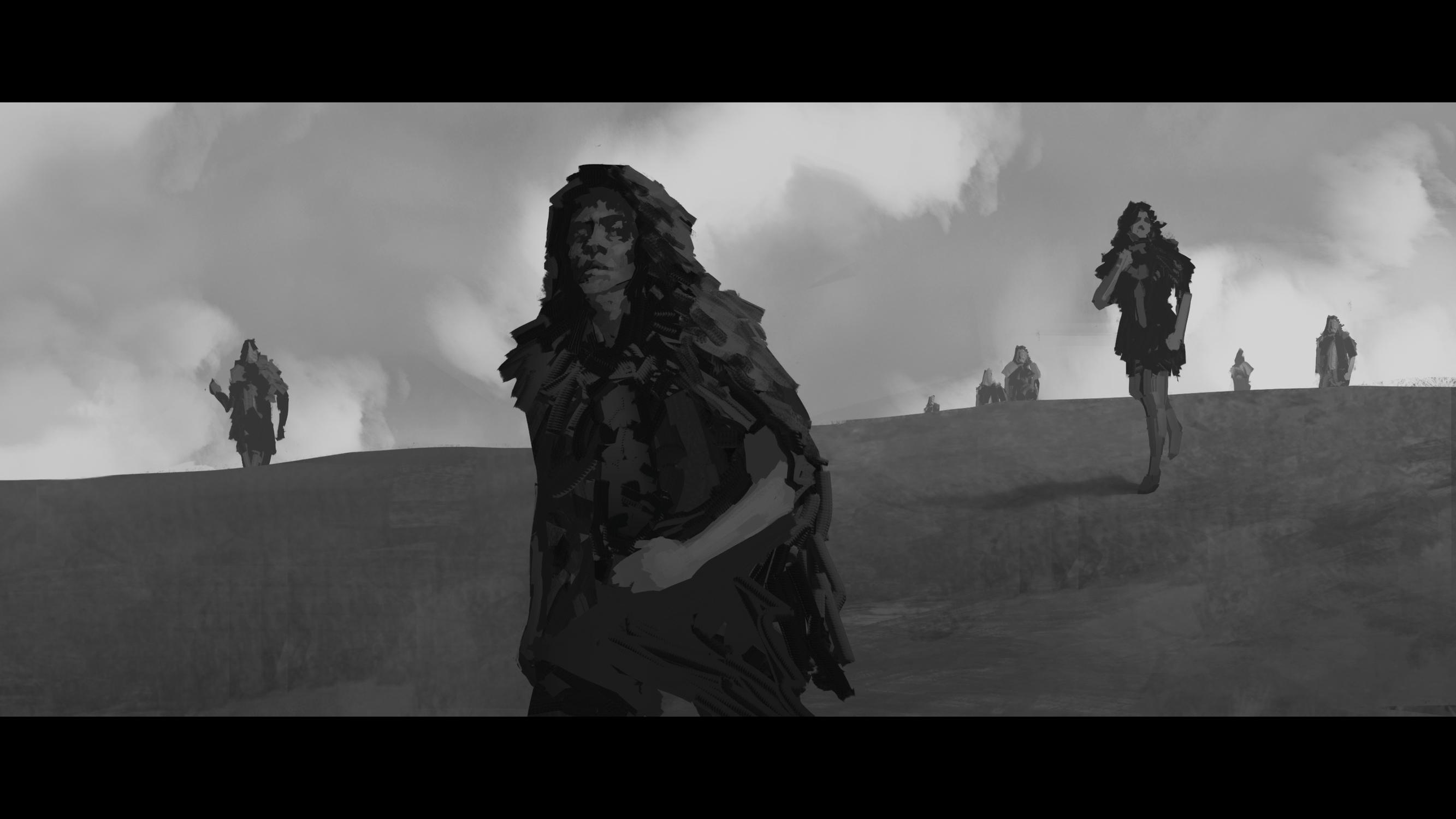 Tribal Encounter #7 Artwork by Bruno Galuzzi Corsini