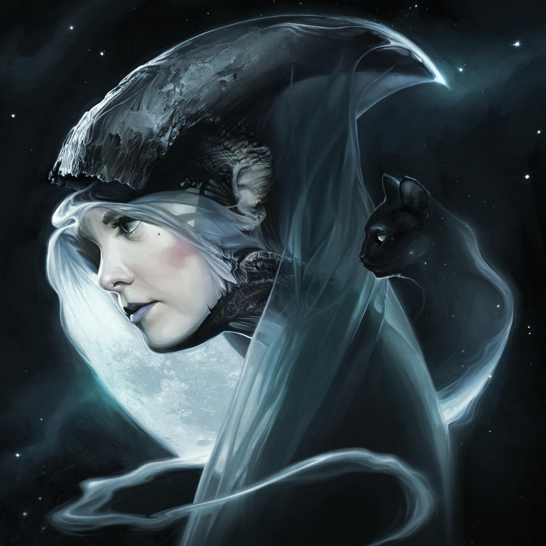 Moon Witch Artwork by David Seidman