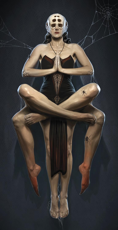 Spider Queen Artwork by David Seidman