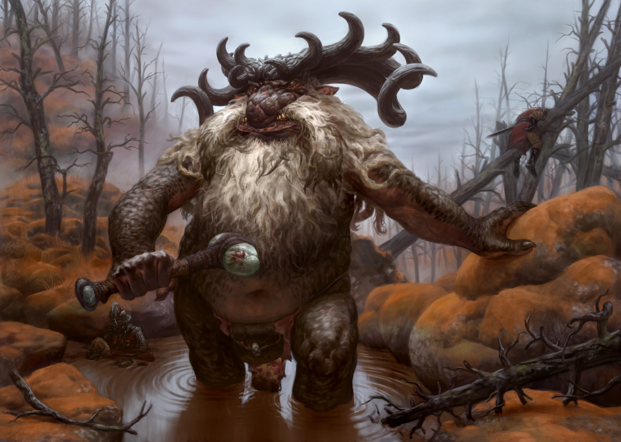 River Troll Artwork by Paul Yates