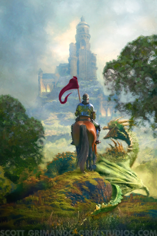 Last Dragon of Camelot Artwork by Scott Grimando