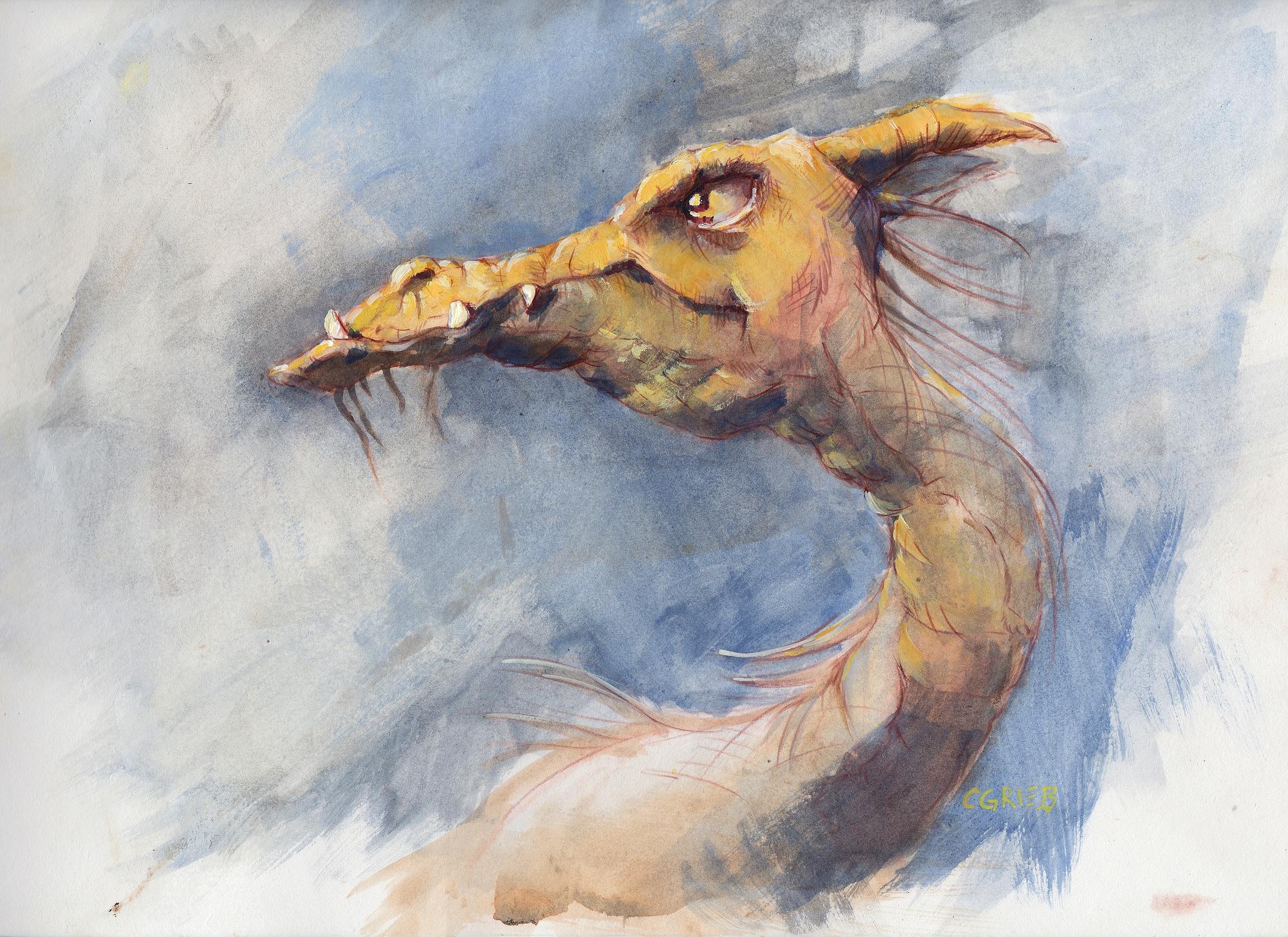 Dragon Artwork by Chuck Grieb