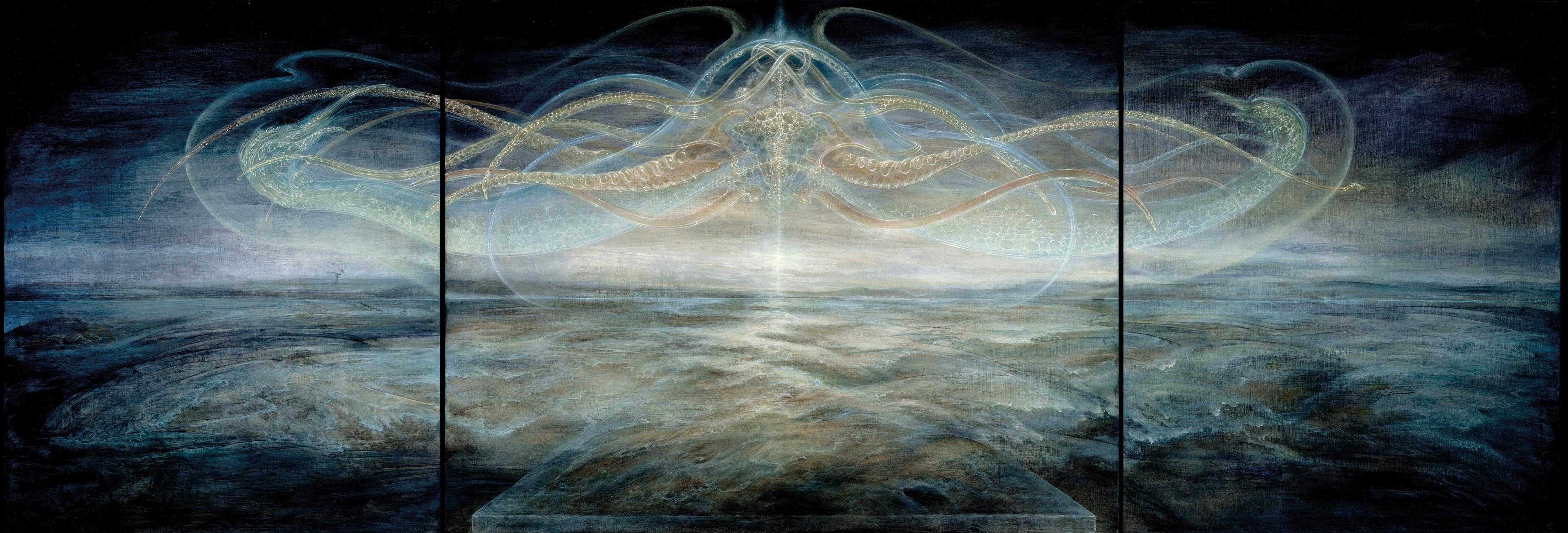 THE LANDING Artwork by Martina Hoffmann