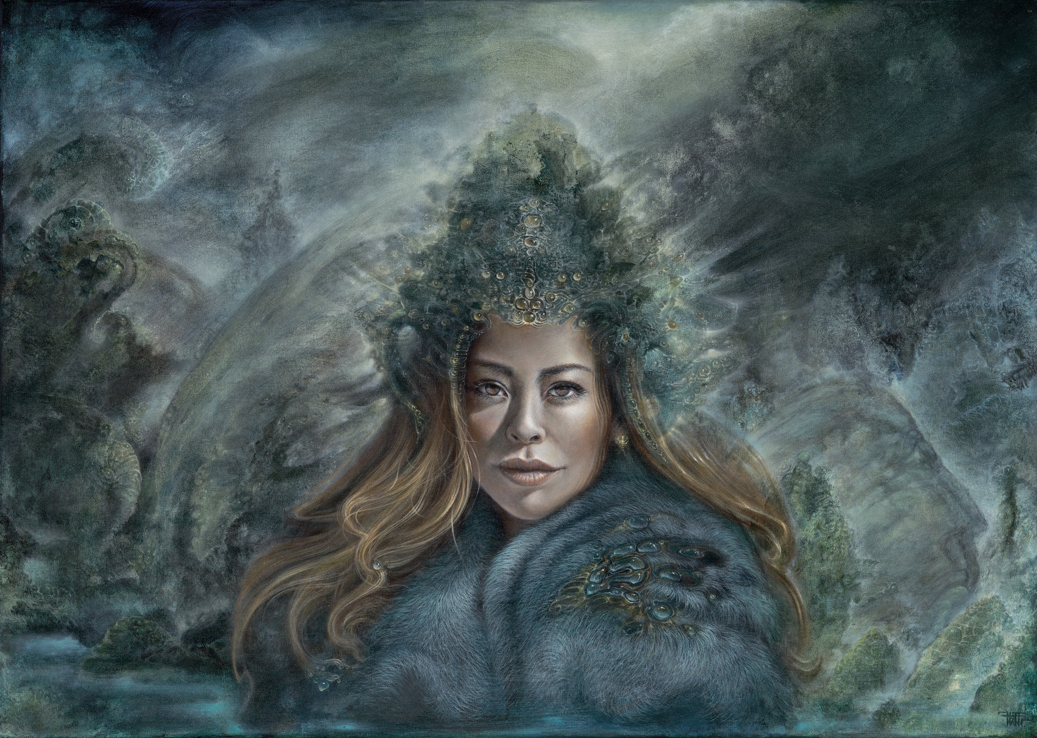 TRANG LE (KHATUN) Artwork by Martina Hoffmann