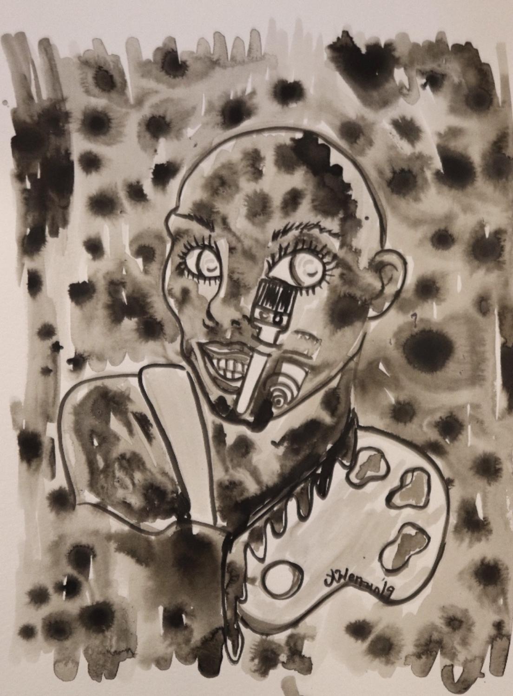 Infected By Art #2 Artwork by anna  werrun