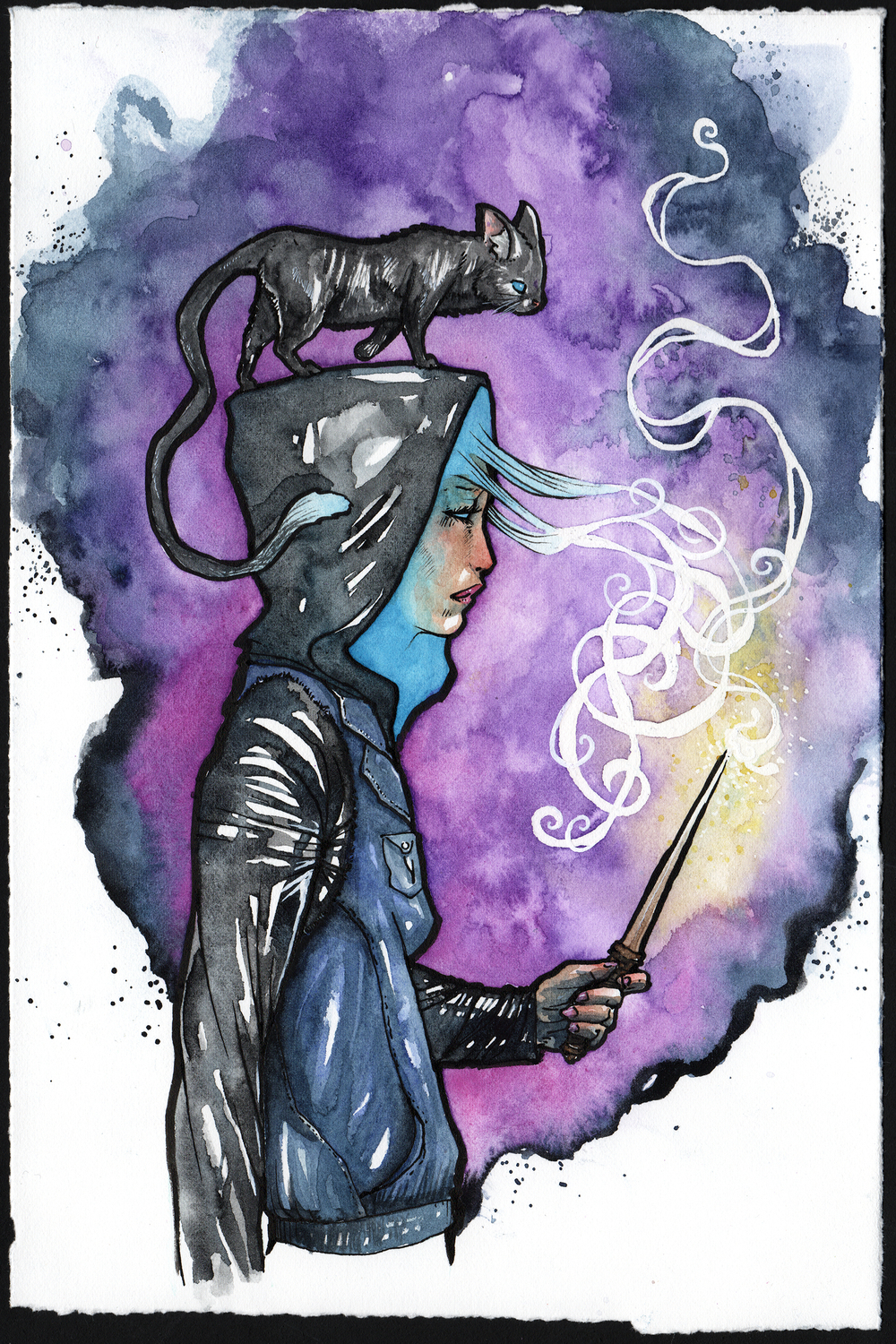 Witchy Woman (New York) Artwork by Cody Vrosh