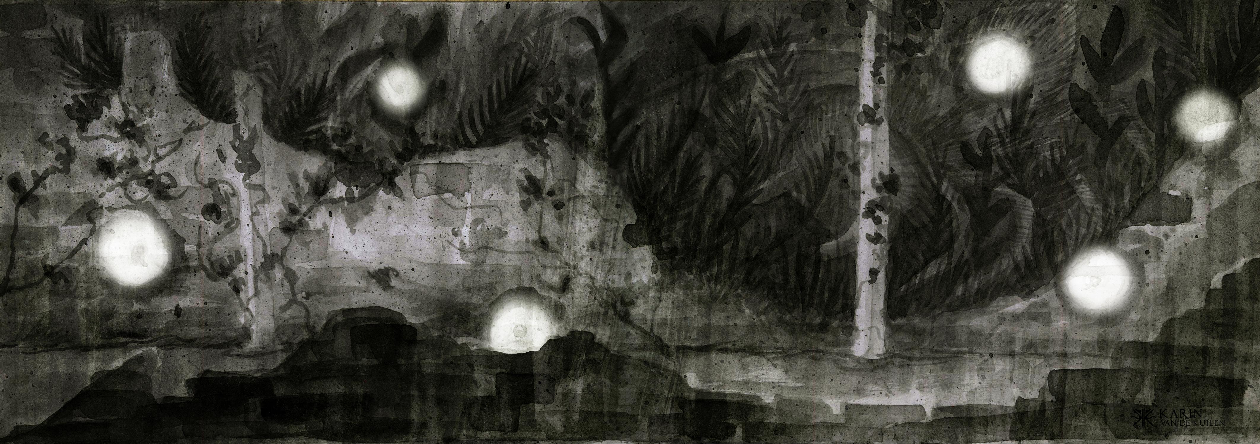 Shadows house 1 Artwork by Karin  van de Kuilen