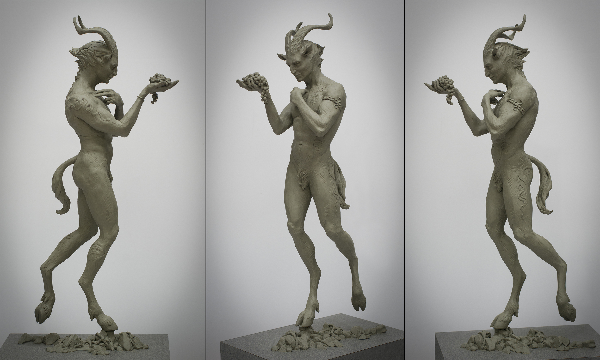 Gift of the Faun Artwork by Colin  Poole