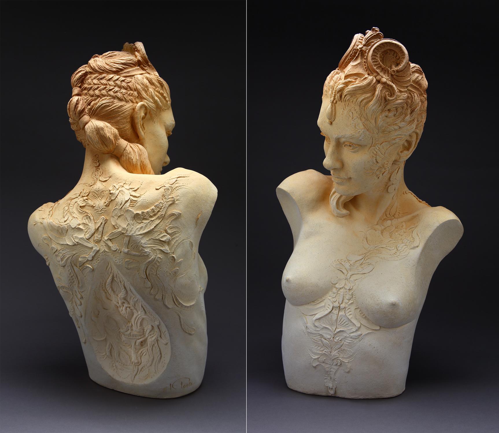 Koketa, Flirtation of the Muse Artwork by Colin  Poole