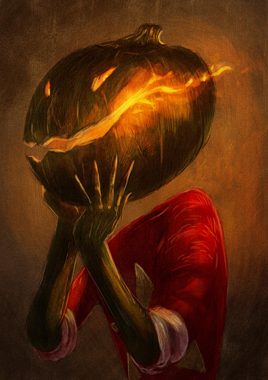 Happy halloween folks! Artwork by Andrea Alemanno