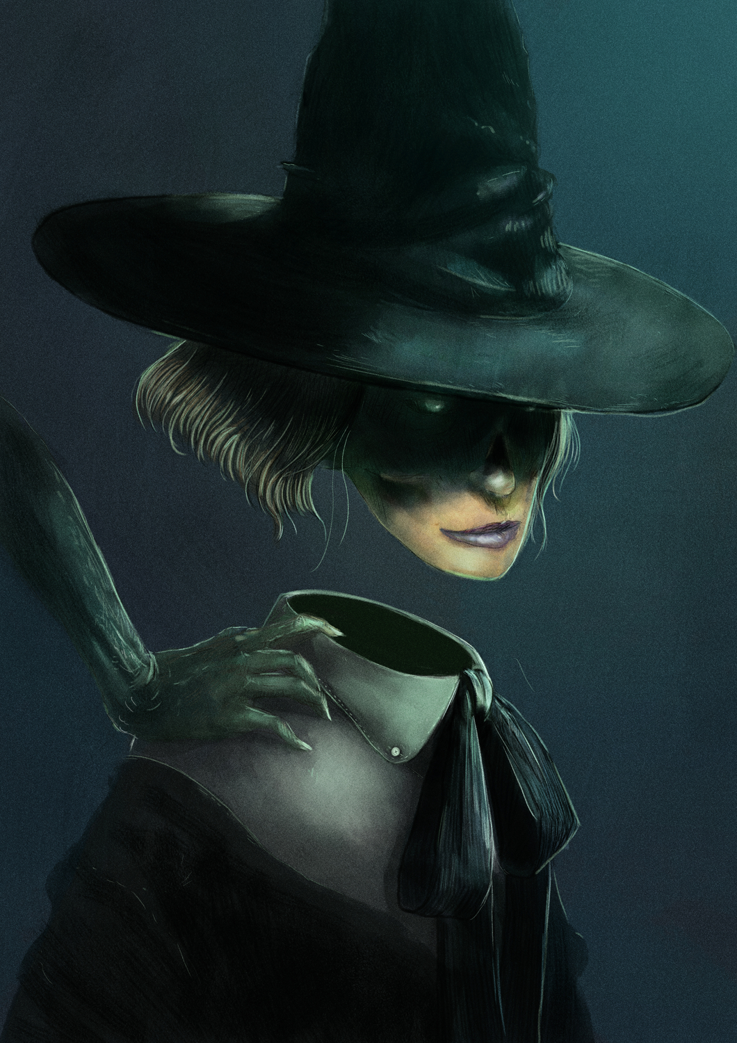 the witch Artwork by Andrea Alemanno