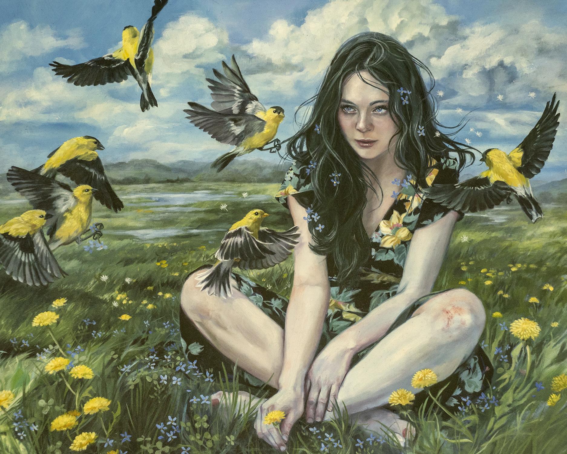 Calling Artwork by Jennifer Hrabota Lesser