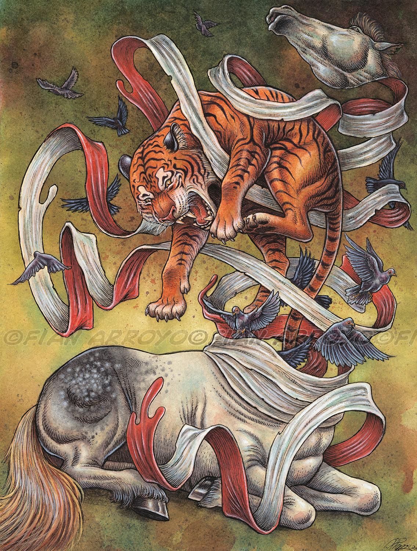 Unraveled Artwork by Fian Arroyo