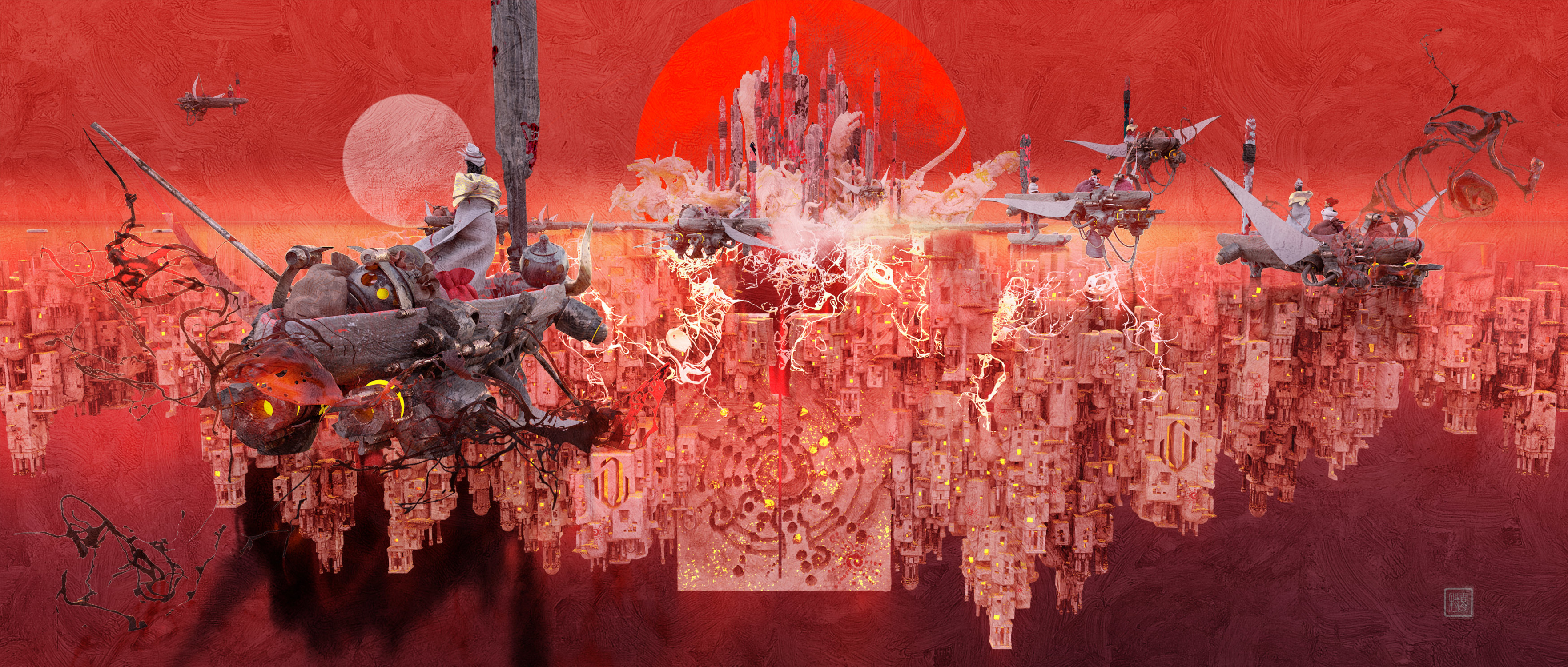 chasing Sun No.2 Artwork by TE HU