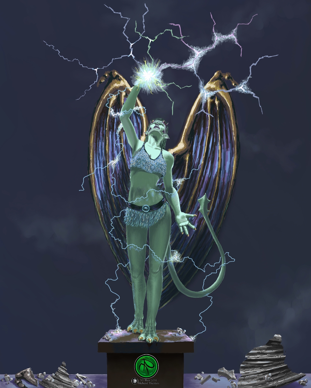Uila Artwork by Richard Thaxton
