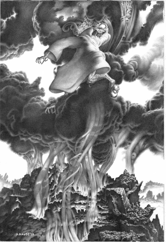 Satan's First Day Artwork by Brad Krause