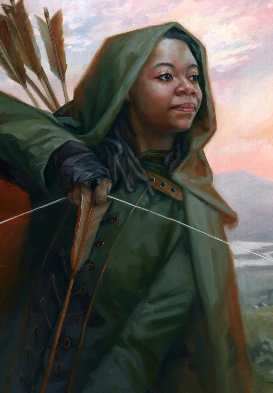 Princess of Thieves Artwork by Christine Kornacki