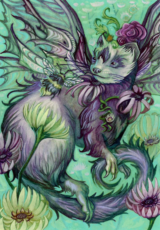 Faerret Artwork by Rachel Quinlan