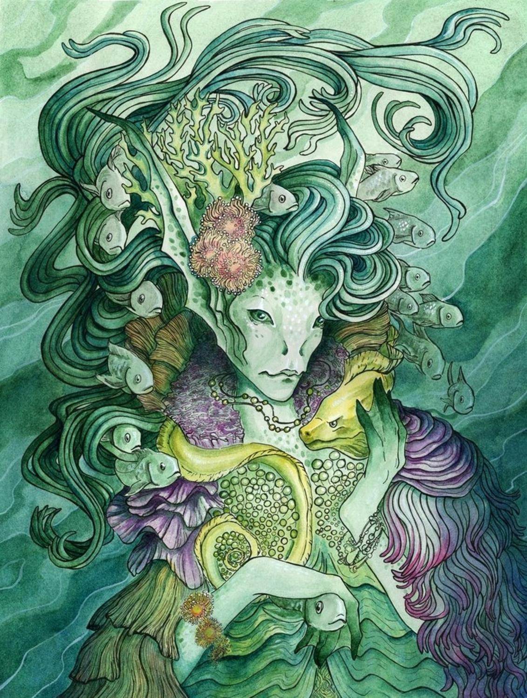 Submerged Artwork by Rachel Quinlan